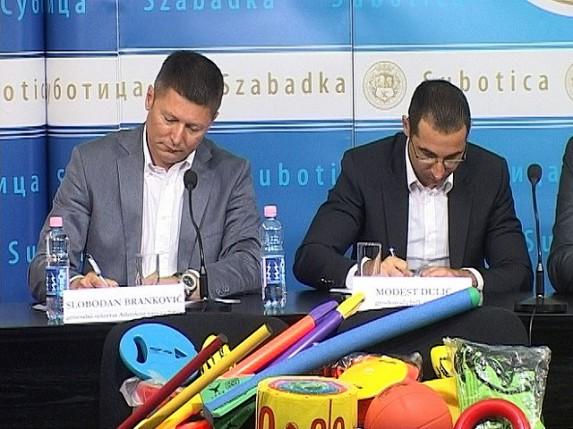 """Program """"Dečija atletika"""" u Subotici"""