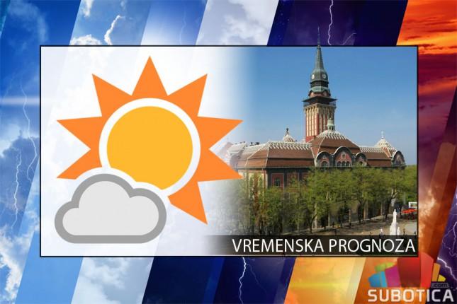 Vremenska prognoza za 11. avgust (petak)