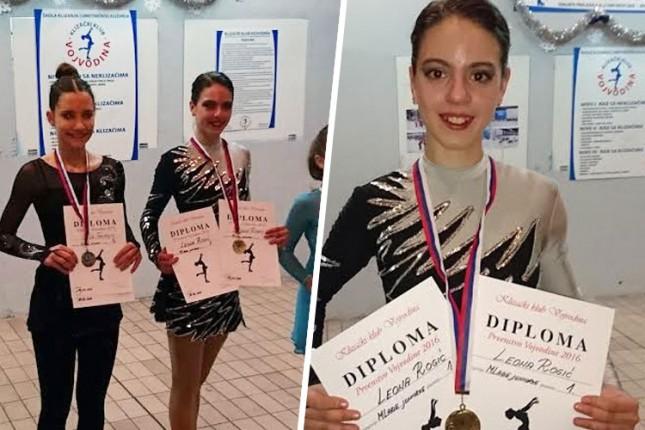 Klizačica Leona Rogić prvakinja Vojvodine u kategoriji mlađih juniorki