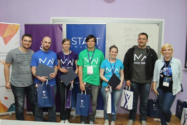 Inovatorski tim sa VTŠ osvojio treće mesto na Imagine Kupu