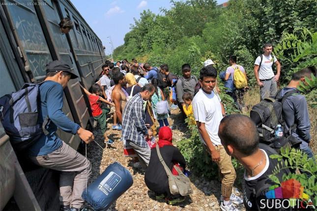 Pomoć migrantima u Subotici