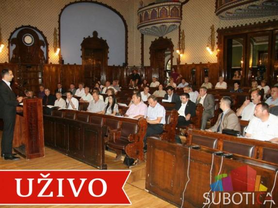 Uživo: 11. Skupština Grada Subotice