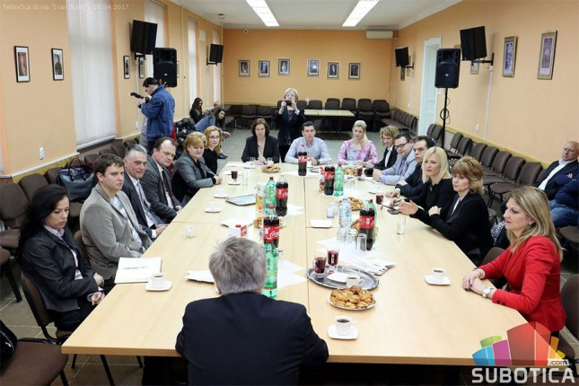 """Poseta delegacije iz Bratislave Tehničkoj školi """"Ivan Sarić"""""""