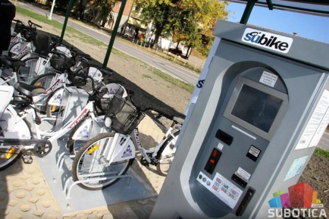 Kraj sezone iznajmljivanja gradskih bicikala