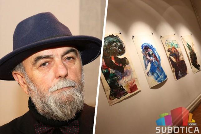 Sava Halugin poklonio svoje crteže Savremenoj galeriji