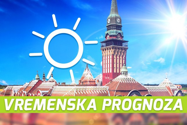 Vremenska prognoza za 30. jul (ponedeljak)
