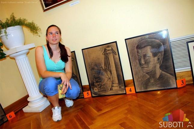 Humanitarna aukcija slika učenika Politehničke škole