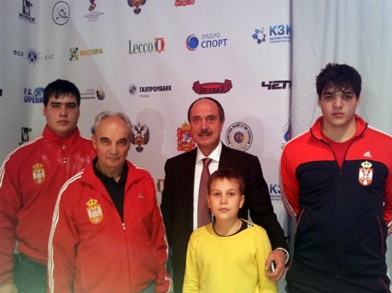 Dizača tegova braća Tamaš i Tivadar Kajdoči učestvovali na Grand Prix President Kupu u Moskvi