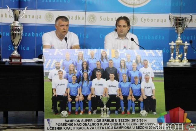 "ŽFK ""Spartak"" okončao nacionalna takmičenja duplom krunom"
