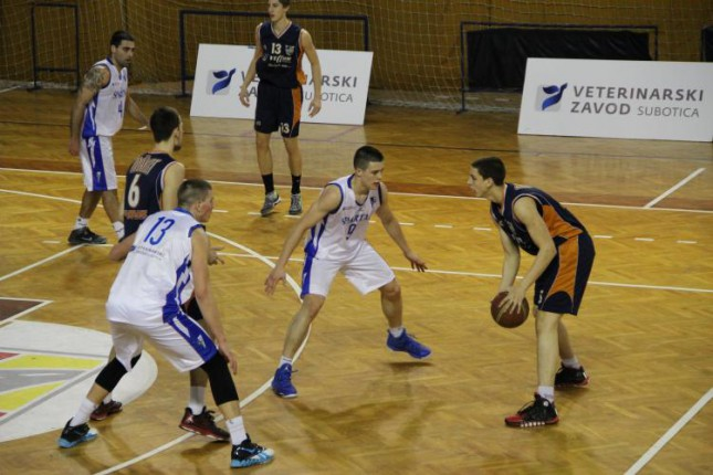 Pobeda košarkaša Spartaka protiv Mladosti iz Čačka (91:66)