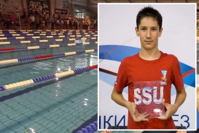 Plivanje: Nikola Koltin najbolji na Prvenstvu Srbije za kadete