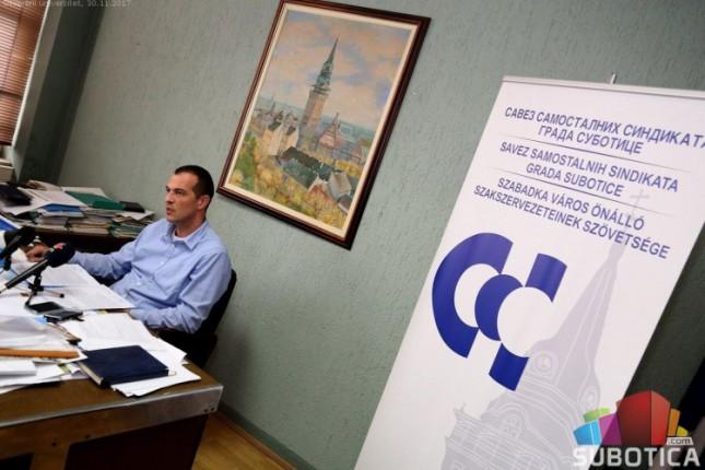 Subotički komunalci održali štrajk upozorenja