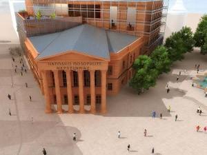 Stala gradnja Narodnog pozorišta u Subotici