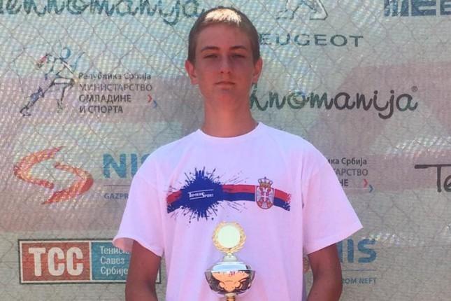 Kristian Juhas niže uspehe na teniskim turnirima