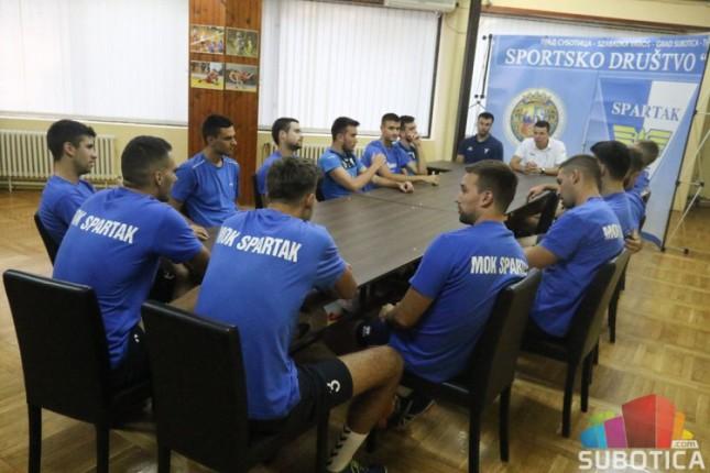 Odbojka: Spartak počeo pripreme, ništa od Evrope, domaća liga prioritet