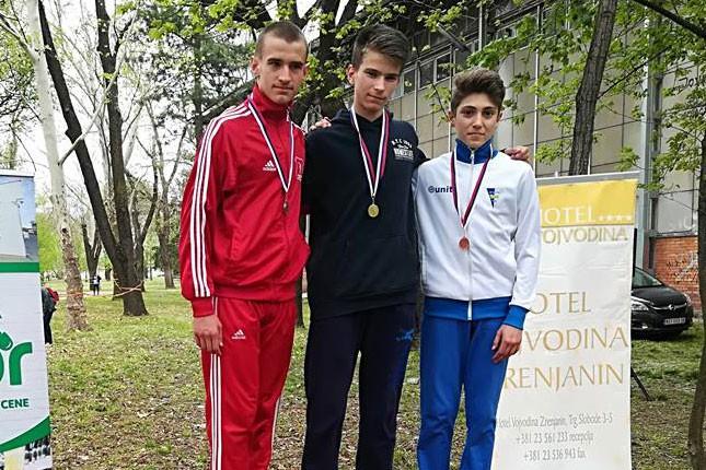 Atletika: Izuzetan uspeh starijih pionira Spartaka na Prvenstvu Vojvodine u krosu