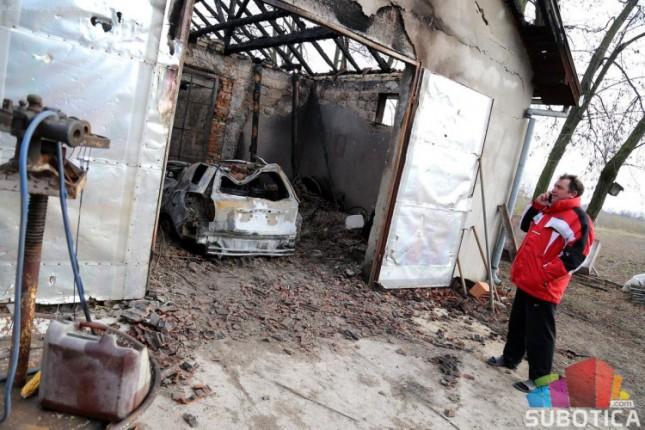 Izgoreo službeni auto Šimona Ostrogonca, člana Gradskog veća