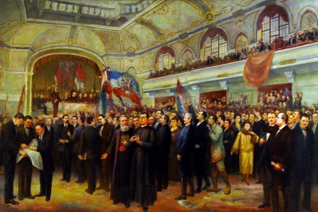 Vremeplov: Oslobođenje i ujedinjenje u Subotici 100 godina kasnije - Epizoda VI - Velika narodna skupština u Novom Sadu