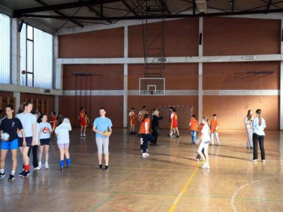 Renoviranje sportske hale u Bajmoku