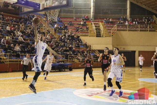 Košarka: Poraz Spartaka protiv Dinamika u poslednjim trenucima meča