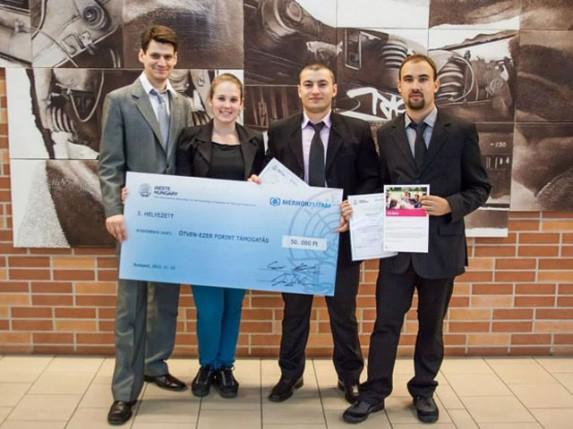 """Treće mesto za studente VTŠ na  međunarodnom takmičenju """"Trka inženjera"""" u Mađarskoj"""