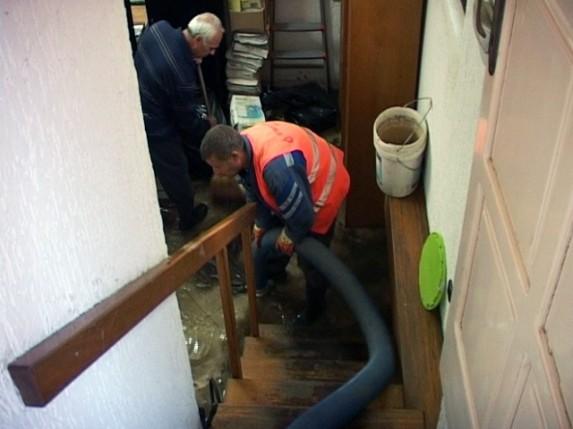 Ispumpavanje vode iz podruma
