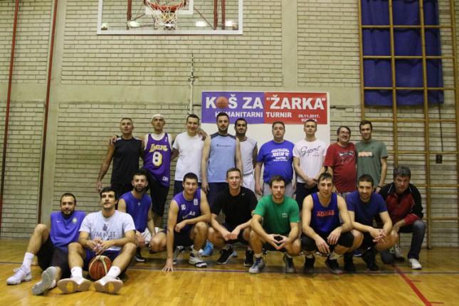 """Održan humanitarni turnir u basketu """"Koš za Žarko"""""""