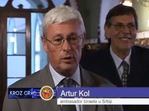 Ambasador Izraela u oproštajnoj poseti Subotici