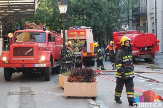Heroji grada: Tokom i nakon požara desetak vatrogasaca potražilo medicinsku pomoć