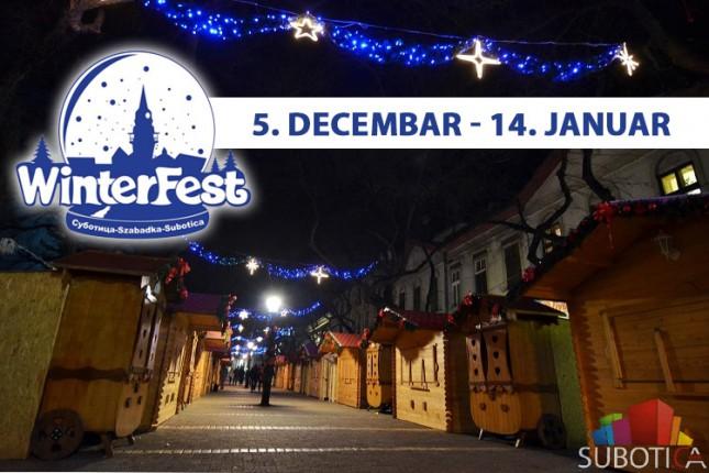 """Sutra se otvara novogodišnji vašar """"Winterfest"""""""