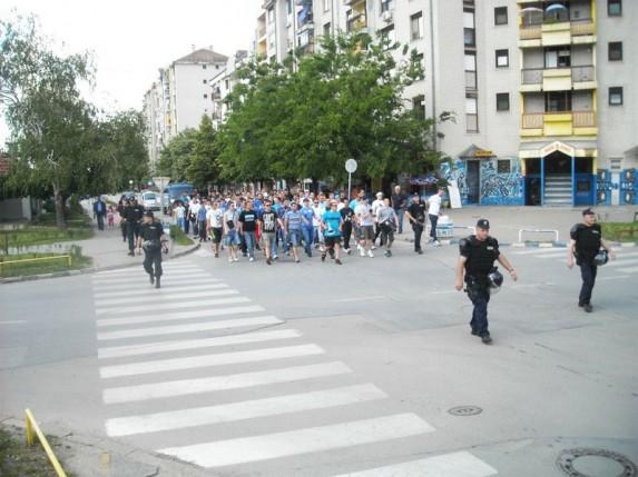 Saopštenje PU Subotica povodom fudbalske utakmice u nedelju