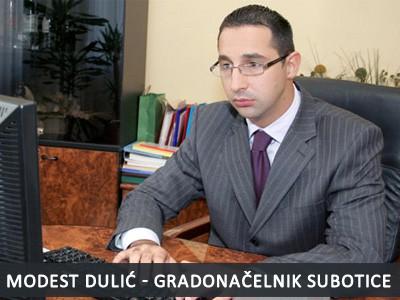 Odlučeno: Modest Dulić gradonačelnik Subotice
