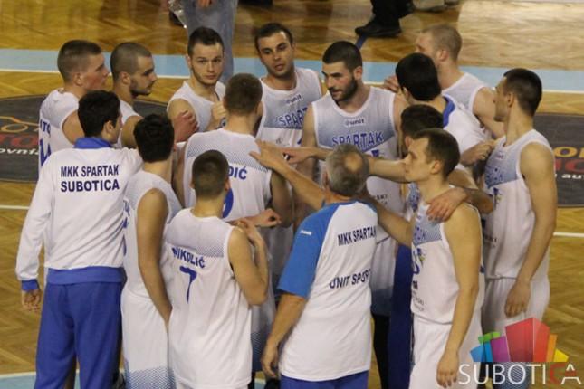 Najslađe za kraj - košarkaši Spartaka pobedom završili sezonu