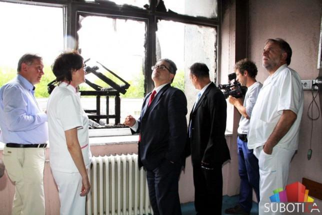 Poseta državnih sekretara Ministarstva zdravlja subotičkoj bolnici