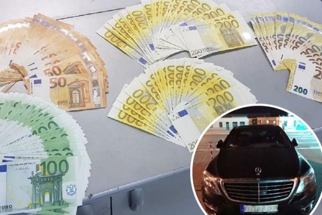 """U naslonu za ruke """"sakrio"""" 50.000 evra"""