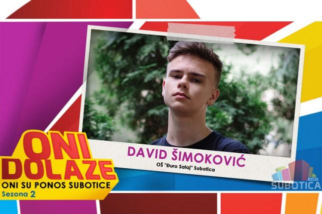 """Oni dolaze: David Šimoković, đak generacije OŠ """"Đuro Salaj"""""""