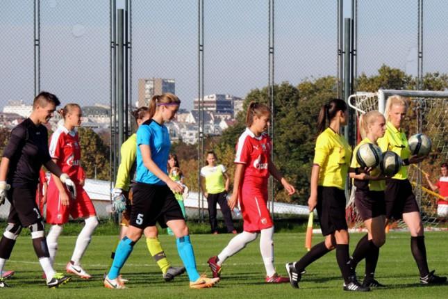 Fudbalerkama Spartaka pripao derbi kola protiv LASK Crvene zvezde (0:2)