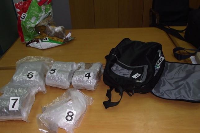 Sprečeno krijumčarenje gotovo 6 kilograma marihuane na Horgošu