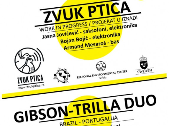 "Jazziré 2013: Večeras ""Zvuk ptica"" i ""Gibson - Trilla duo"""