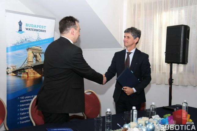 """Predstavljeni rezultati projekta JKP """"Vodovod i kanalizacija"""" i Budimpeštanskog vodovoda"""