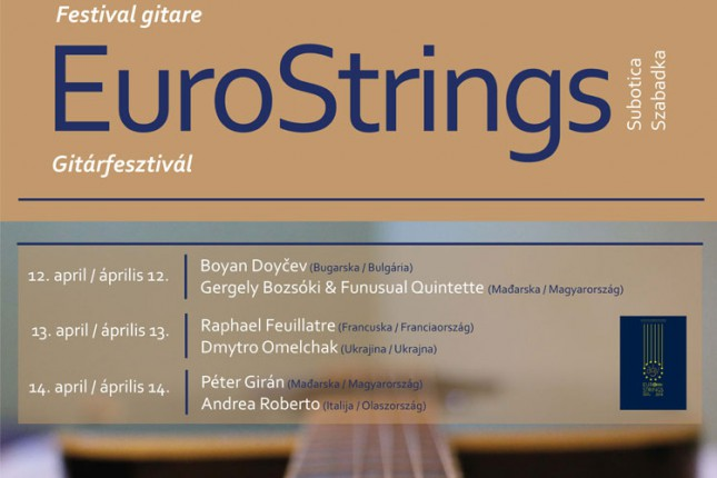 Festival klasične gitare od 12. do 14. aprila u Savremenoj galeriji