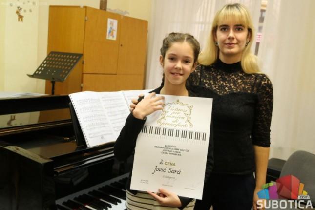 Pianistkinja Sara Jović osvojila nagradu na prestižnom takmičenju