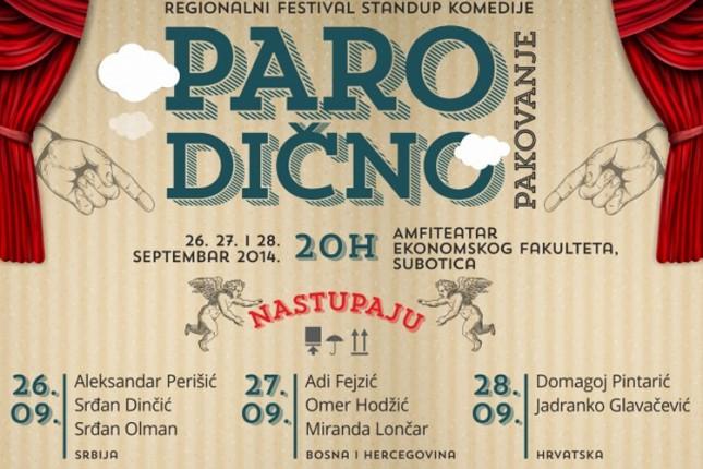 """Završen prvi festival stand up komedije """"Parodično pakovanje"""""""