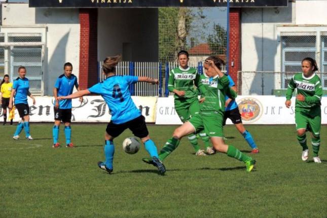 Fudbalerke Spartaka plejof počele pobedom protiv Mašinca (3:0)