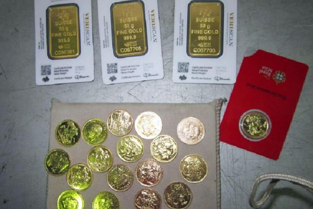 Na Horgošu zaplenjene zlatne poluge i neprijavljeni evri