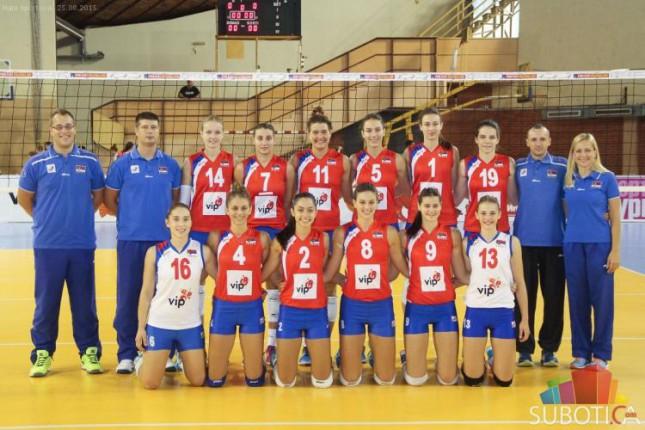 Srbija uspešna na startu Balkanskog prvenstva u odbojci