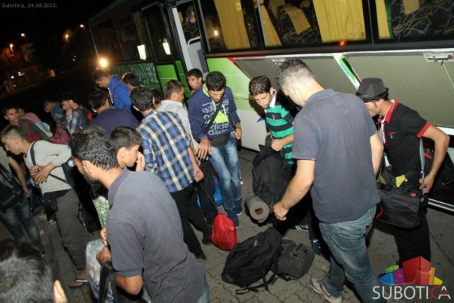Stiglo 1.000 migranata - većina nastavlja ka Kanjiži