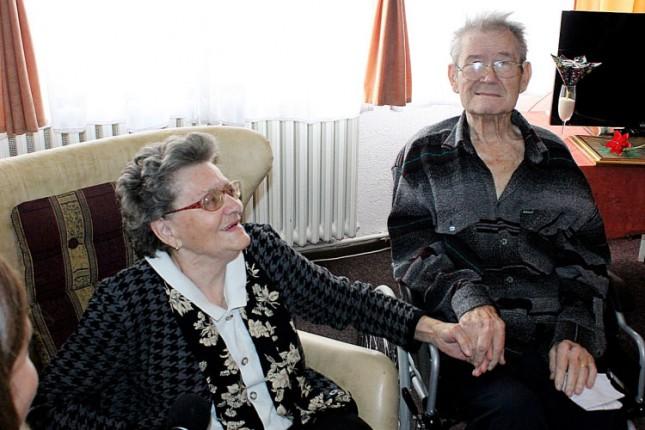 Stanovnici Gerontološkog centra obeležili šest decenija braka
