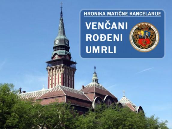 Hronika matične službe (24 - 30. maj 2013.)