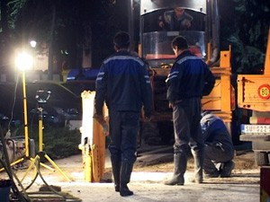 Vandali oštetili cevovod u centru grada
